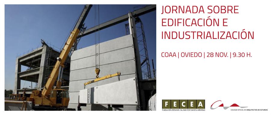 Jornada sobre edificación e industrialización en el COAA
