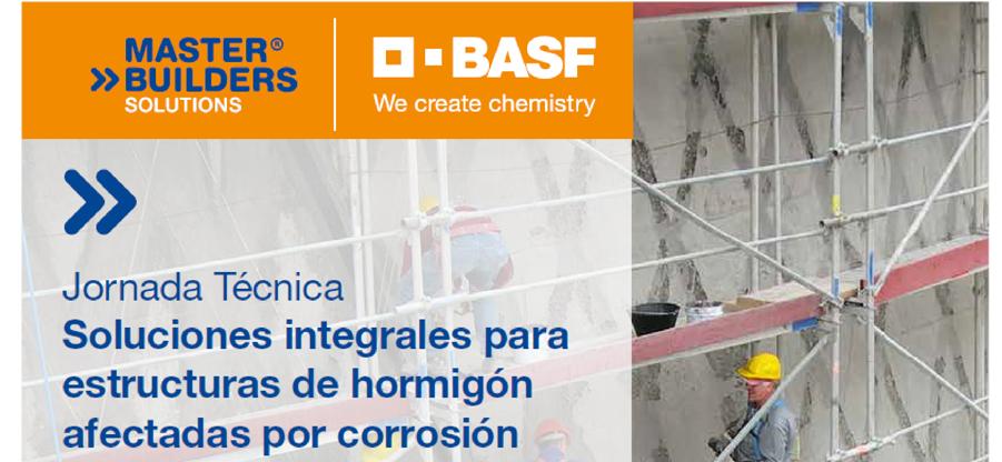 Jornada sobre soluciones integrales para estructuras de hormigón afectadas por corrosión