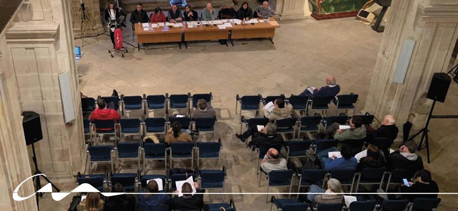 La asamblea del COAA aprueba el plan de usos de las sedes colegiales