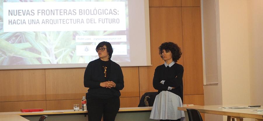 La biomimesis, protagonista en el Colegio de Arquitectos
