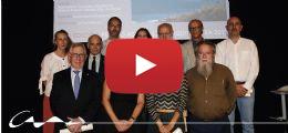 La pantalla de protección contra el viento en la explanada de Aboño, Premio Asturias de Arquitectura