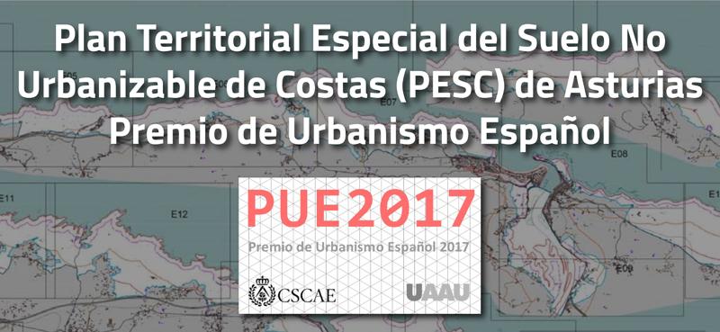 La primera edición del Premio de Urbanismo Español recae en el PESC de Rañada