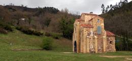 La recuperación de los murales de San Miguel de Lillo en `Abierto por Restauración`