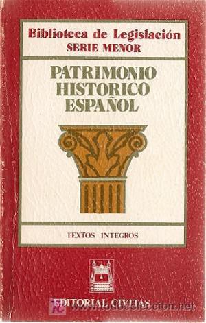 Ley del Patrimonio Histórico Español