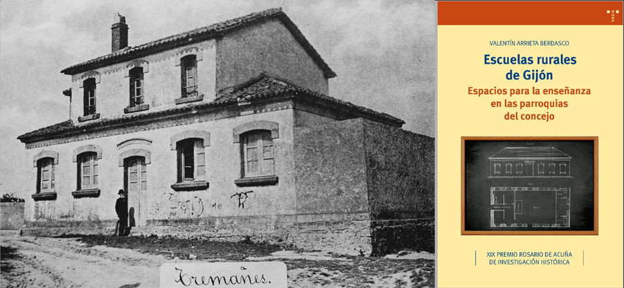 Libro y muestra sobre las escuelas rurales de Gijón