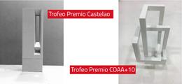 María López Iglesias gana los concursos de los trofeos de los premios Castelao y COAA+10