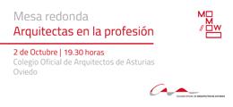 Mesa redonda Arquitectas en la profesión
