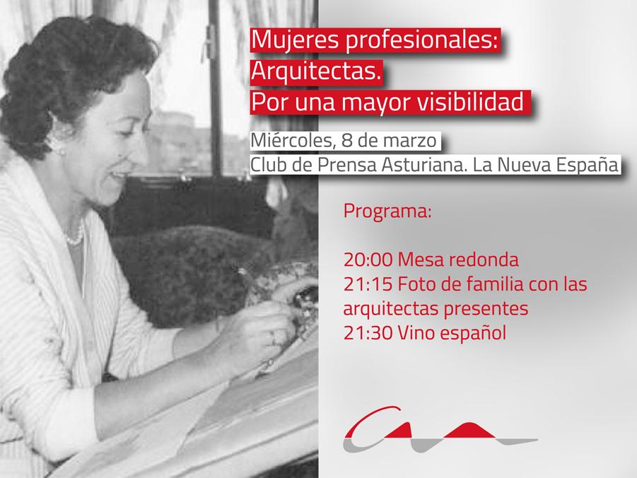 Mujeres profesionales: arquitectas. Por una mayor visibilidad