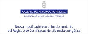 Nueva modificación en el funcionamiento del Registro de Certificados de eficiencia energética