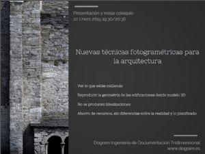 Nuevas Técnicas Fotogramétricas para la Arquitectura