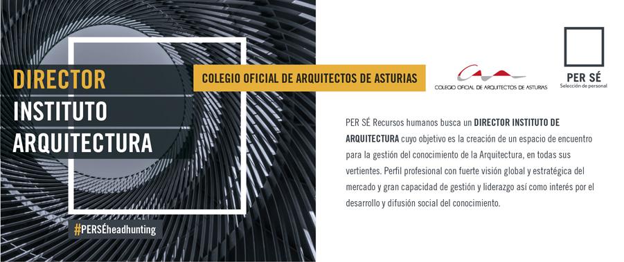 Oferta de empleo Director del Instituto de Arquitectura