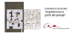 Óscar Ares reivindica el paisaje como elemento inspirador de la arquitectura
