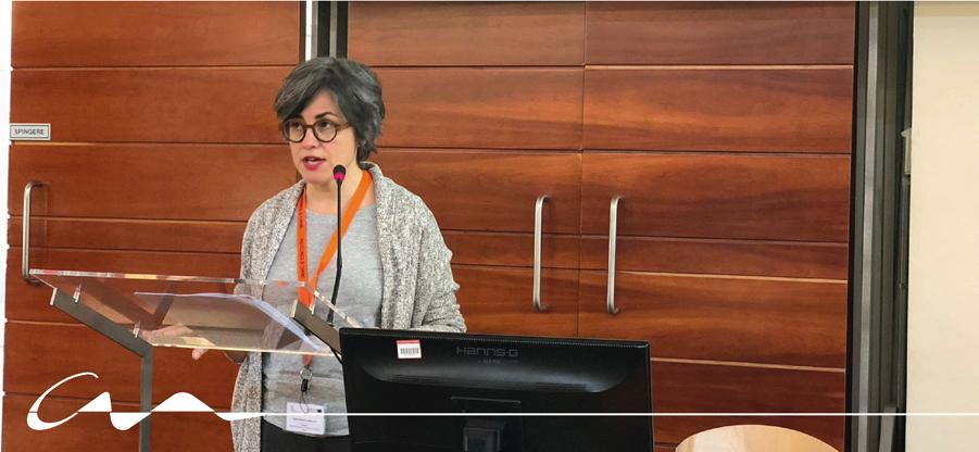 Ponencia de Sonia Puente Landázuri en el simposio de MoMoWo en Turín