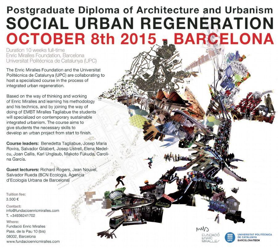 Posgrado sobre Regeneración Urbana