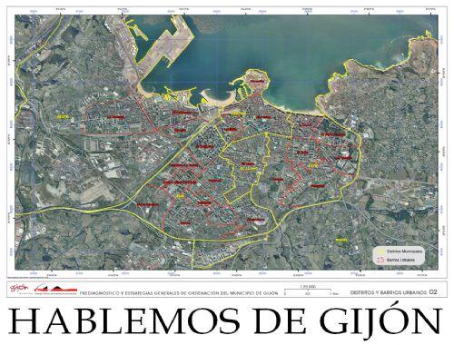 Pre-diagnóstico y estrategias generales de ordenación del municipio de Gijón
