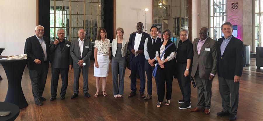 Presencia del COAA en la semana internacional del RIBA