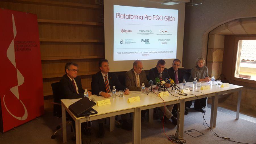 Presentación Comunicado Plataforma Pro PGO Gijón