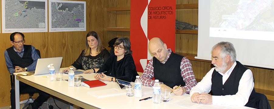 Presentación de conclusiones de las reuniones sobre el PGO de Gijón