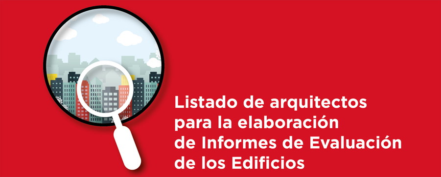 Publicada la lista de arquitectos de la bolsa de trabajo de los IEE