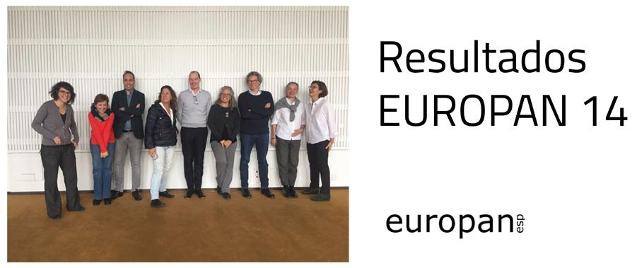 Resultados de EUROPAN 14