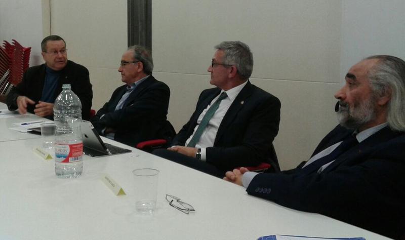 Reunión Candidatos a Rector de la Universidad de Oviedo