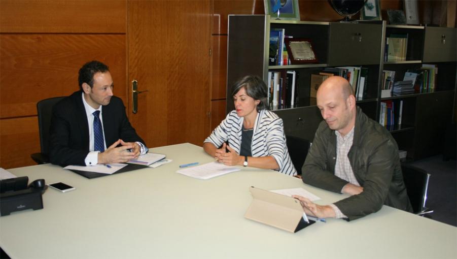 Reunión en Consejería de Presidencia y Participación Ciudadana