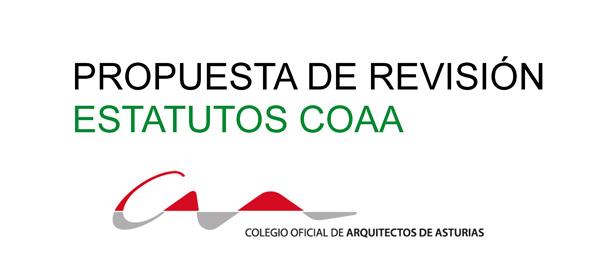 Revision Estatutos COAA