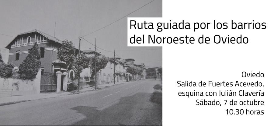 Ruta guiada por los barrios del noroeste de Oviedo