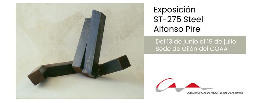 ST-275 Steel, exposición de Alfonso Pire