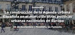 Seminario sobre la construcción de la Agenda Urbana Española