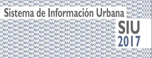 Sistema de Información Urbana (SIU) 2017