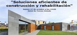 Soluciones eficientes de construcción y rehabilitación