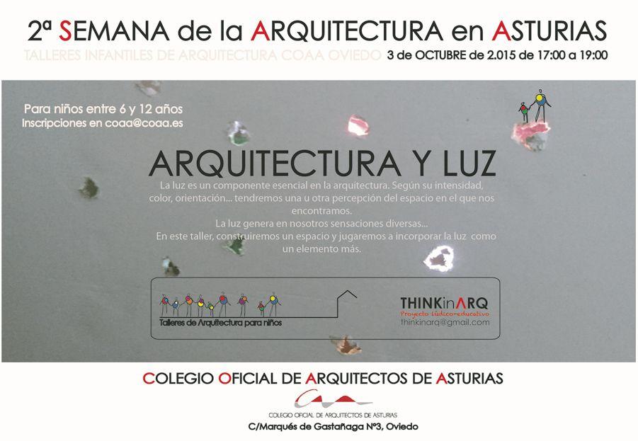 Talleres Infantiles (Arquitectura y Luz)