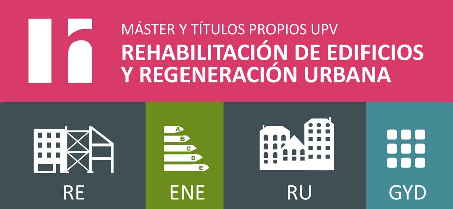 Titulaciones en Rehabilitación de edificios de regeneración urbana en Valencia