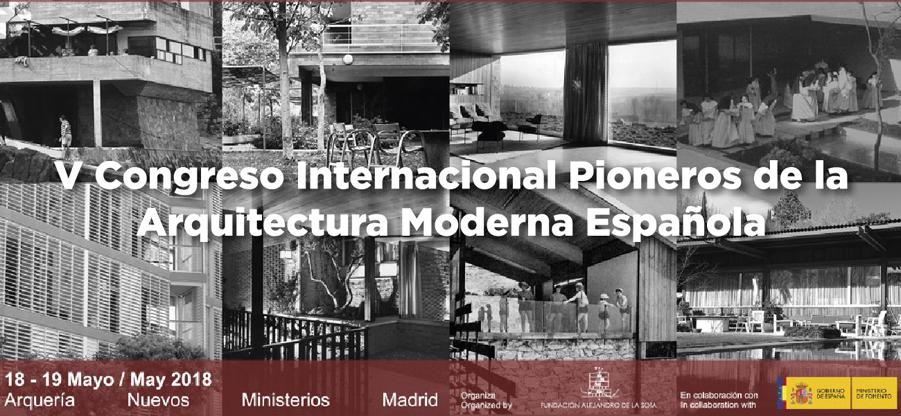 V Congreso Internacional Pioneros de la Arquitectura Moderna Española