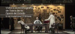 Visita a la escenografía de Tosca de la Ópera de Oviedo