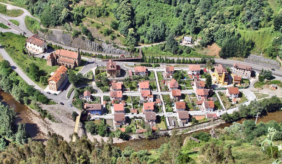Visita al poblado minero de Bustiello