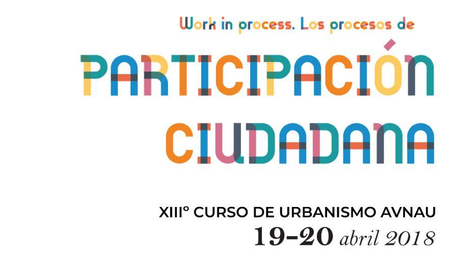 XIII Curso de urbanismo AVNAU