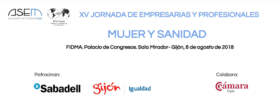XV Jornada de Empresarias y Profesionales `Mujer y Sanidad`