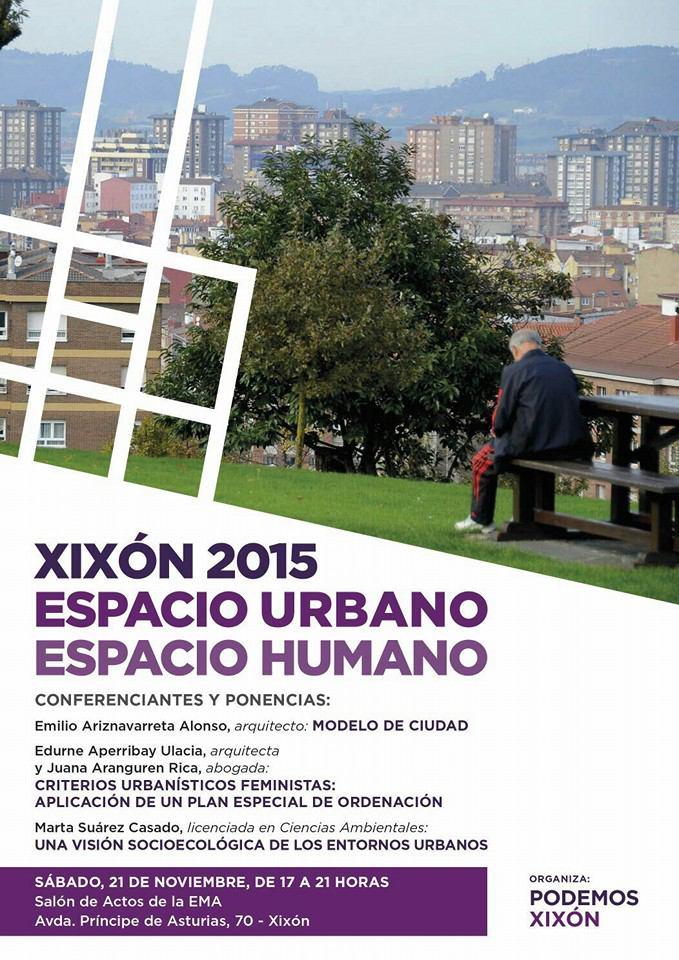 Xixón 2015 Espacio Urbano